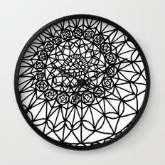 Doodle 12 Wall Clock