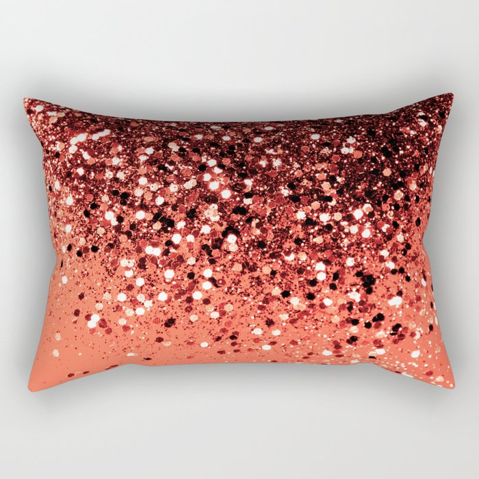 Cali Summer Vibes Lady Glitter #8 #shiny #decor #art #society6 Rectangular Pillow