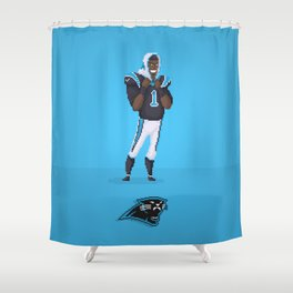 Cam Newton Shower Curtain
