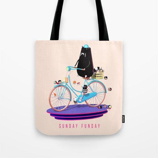 Sunday Funday Tote Bag