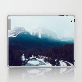 Canadian Rocky Mountains, Banff, Lake Louise, Winter Landscape Laptop & iPad Skin