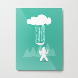 It's a cloudy day Metal Print
