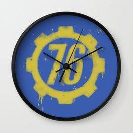 Shelter 76 Wall Clock