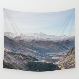 Queenstown Mountains Wall Tapestry