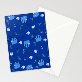 Blue Sloths 2.0 Stationery Cards