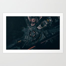 lost at the tip of my mind.. Art Print