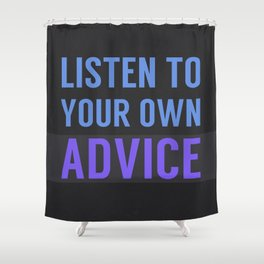 Listen Up Shower Curtain