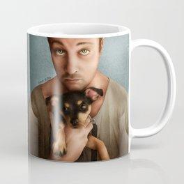 Dan Feuerriegel & Teddy the Puppy Coffee Mug