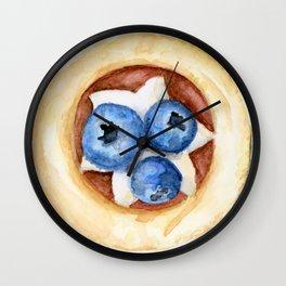 Little Blueberry Tart Wall Clock
