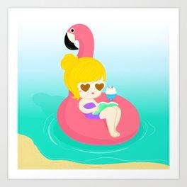 A Summer Dream Art Print