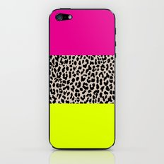Leopard National Flag X iPhone & iPod Skin