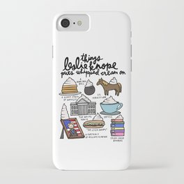 Things Leslie Knope puts Whipped Cream on iPhone Case