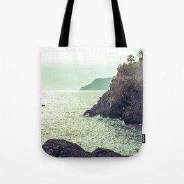 Sea in vintage style Tote Bag