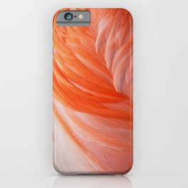 FLAMINGO FLAME iPhone Case