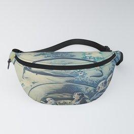 Ukraine The Oceanarium Sea Fairy Tale Artistic Illustration Wave Style Fanny Pack