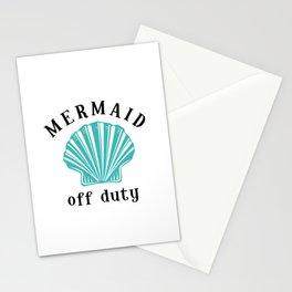 Off Duty Mermaid Stationery Cards