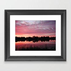 Lake Sky 3 Framed Art Print