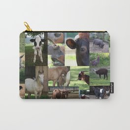 Farm Animals Galore Carry-All Pouch
