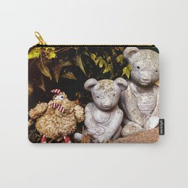 Three Bears Carry-All Pouch