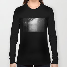 New Orleans on a foggy day Long Sleeve T-shirt