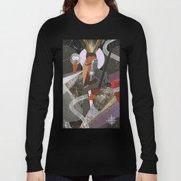 Dorian Pavus Tarot Paper Art Long Sleeve T-shirt