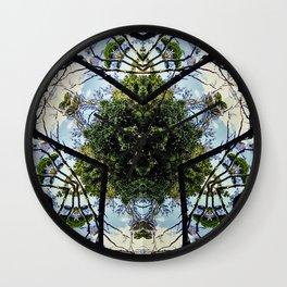 Natural Pattern No 1 Wall Clock