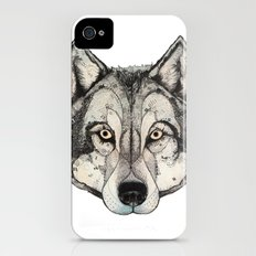 Wolf Mask Slim Case iPhone (4, 4s)