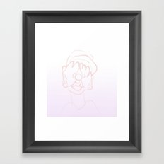 boi Framed Art Print