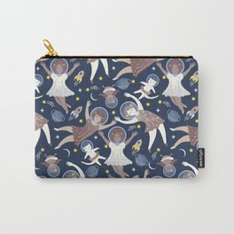 Girls in space Carry-All Pouch