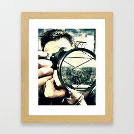 An Empire View Framed Art Print