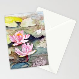 Lily Pad Stationery Cards