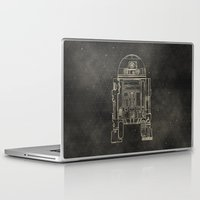 r2d2 Laptop & iPad Skins featuring R2D2 by LindseyCowley