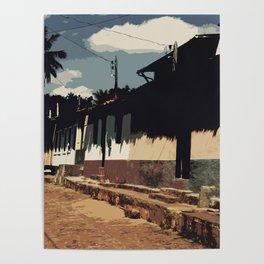 Brazil Street Poster
