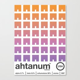 ahtanum single hop Canvas Print