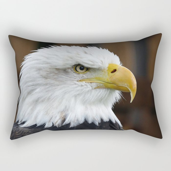 The Bald Eagle Rectangular Pillow