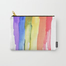 rainbow watercolor #2 Carry-All Pouch