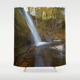 Autumn at Hungarian Falls Shower Curtain