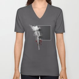 male nude art Unisex V-Neck