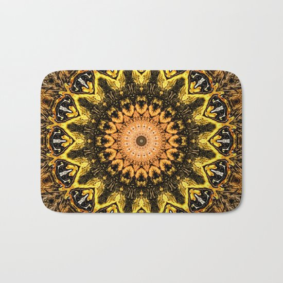 Gold Star Bohemian Mandala Design by artaddiction45