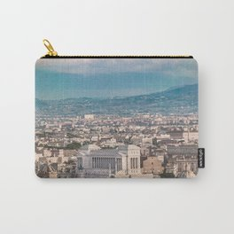 Rome Aerial View at Saint Peter Basilica Viewpoint Carry-All Pouch