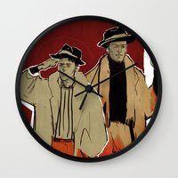 x men Wall Clocks featuring THE x-MEN by chazstity