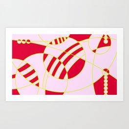 homenaje al gran W III Art Print