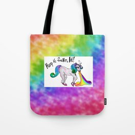 Unicorn Mandate Tote Bag