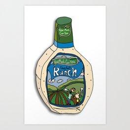 Hidden Valley Original Ranch Dressing Art Print