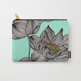 Lotus in my Pond Carry-All Pouch