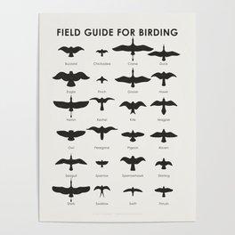 Field Guide for Birding Poster