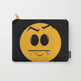 Vampire Smilie Carry-All Pouch