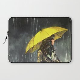 All Upon the Downtown Train Laptop Sleeve