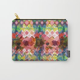 The Geometry of a flower Carry-All Pouch
