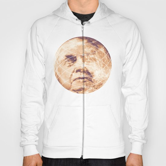 Man in the Moon Phases Hoody
